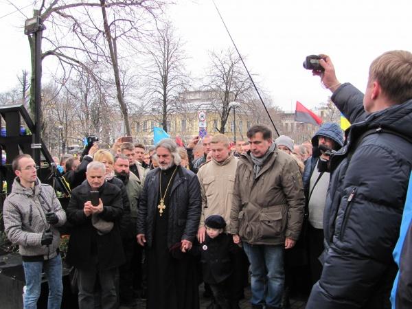 НОВОСТИ УКРАИНЫ: Під час Маршу за Імпічмент, який зібрав 30 тисяч учасників, Яків Осташ закликав випустити політв'язнів