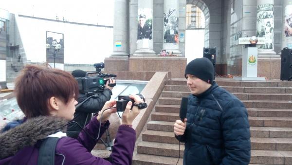 НОВОСТИ УКРАИНЫ: Яків Осташ розповів, коли на Майдані запрацює «Скляна кімната»
